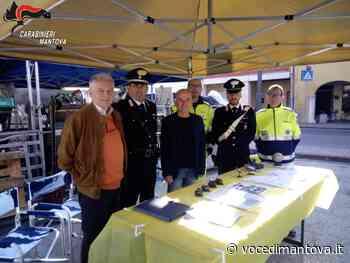 Operazione sicurezza: Carabinieri tra la gente al mercato di Castellucchio - La Voce di Mantova