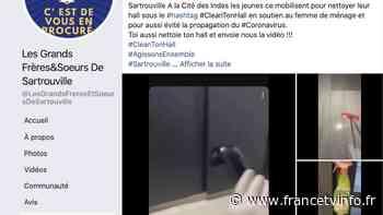 Coronavirus : les jeunes des cités de Sartrouville viennent en aide au personnel hospitalier et aux femmes ... - Franceinfo
