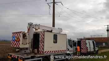 Réparation : Coupure d'électricité à Wormhout : retour à la normale en fin de journée - Le Journal des Flandres