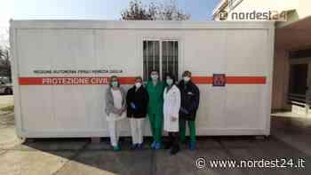 Coronavirus, Fvg: consegnato al Cro di Aviano un container per esame tamponi - Nordest24.it