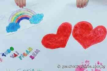 Estudantes de Fagundes Varela, na Serra, espalham mensagens positivas em rede social - Zero Hora