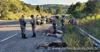 Explosivo encontrado em veículo é recolhido e destruído na Serra - Jornal Correio do Povo