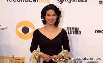 Arcelia Ramírez en TV UNAM entrevistará a corresponsales | El Universal - El Universal