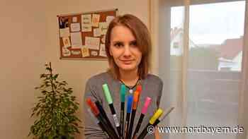 Lisa Doneff aus Weingarts gibt Tipps zum Trend Handlettering - Nordbayern.de