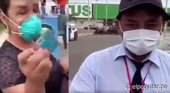 Denuncian a Tottus de Chepén por discriminar a mujer trans [VIDEO] - ElPopular.pe