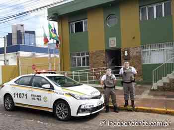 Polícias militares de Lajeado passam a ter protetores faciais à sua disposição - independente
