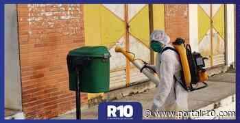 Santa Cruz dos Milagres Santa Cruz dos Milagres amplia ações de desinfecção de locais públicos - Portal R10