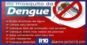 Prefeitura de Santa Cruz dos Milagres alerta para cuidados contra dengue - Portal R10