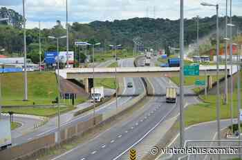 Rodovia Fernão Dias tem acidente e congestionamento em Guarulhos nesta segunda-feira (6) - Via Trolebus