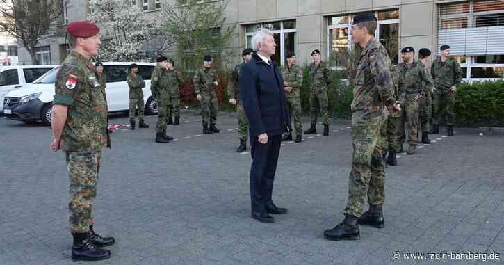 Soldaten helfen in Alten- und Pflegeheimen im Landkreis Bamberg aus