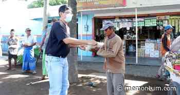 PT Salem Situbondo Bagikan Paket Beras dan Masker Pada Ratusan Tukang Becak - Memontum