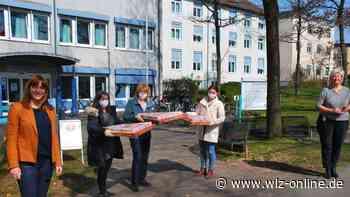 Pizza und Power-Müsli für Klinik-Mitarbeiter in Bad Arolsen - wlz-online.de