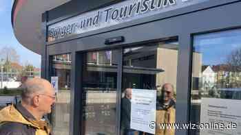 Bad Arolser Rathaustüren bleiben zu - wlz-online.de