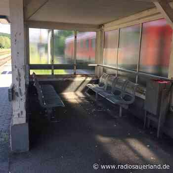 Bahnhof Brilon Wald wird aufgehübscht - Radio Sauerland