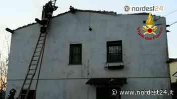 Incendio di un'abitazione a Gaggio di Marcon (VE) – FOTO - Nordest24.it