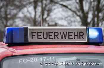 Brand in Schwaikheim - Tiefkühltruhe in Bäckerei fängt Feuer - Stuttgarter Nachrichten