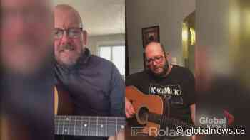 'Stay the blazes home' inspires song in New Brunswick