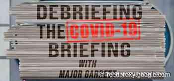 CBS News Radio Offers Nightly Major Garrett Feature 'Debriefing' White House Coronavirus Briefings