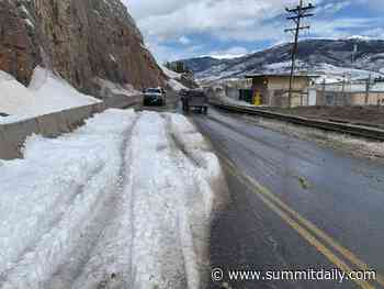 Dillon Dam Road could open this week - Summit Daily News