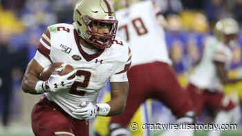 Meet AJ Dillon, Boston College's wrecking ball of a RB prospect - The Draft Wire