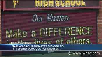 Pittsford schools raise money for families in need