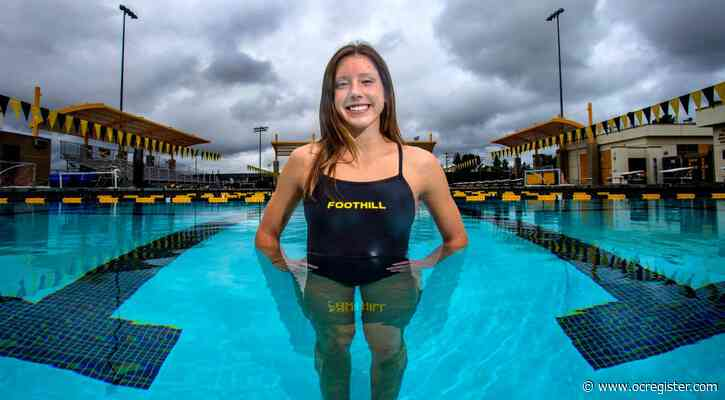 Foothill swimmer Samantha Pearson responds to coronavirus crisis, loss of season with positive attitude