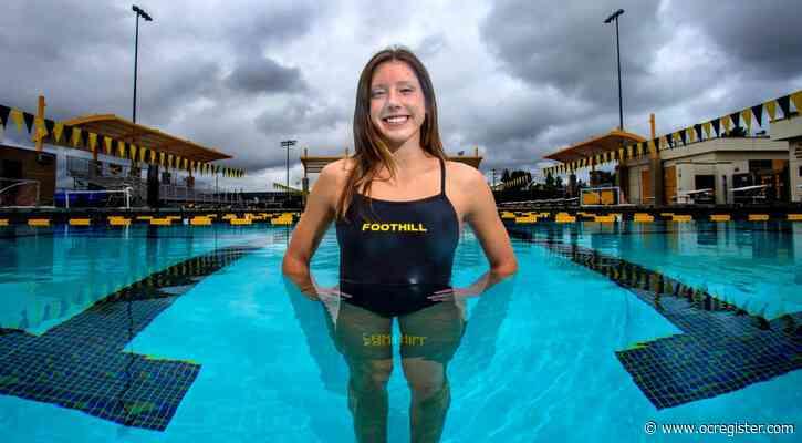 Foothill swimmer Samantha Pearson responds to coronavirus crisis, loss of season with positive attitude