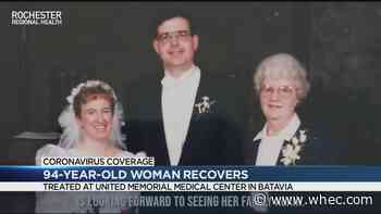 94-year-old Orleans County woman recovers from coronavirus