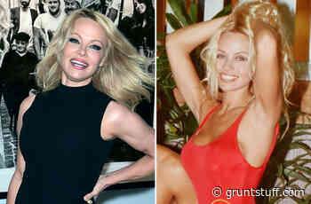 Pamela Anderson, 52, recreates iconic 'Baywatch' run in new ad - Gruntstuff