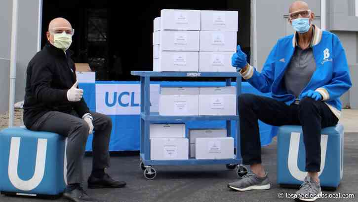 Kareem Abdul-Jabbar Donates 900 Pairs Of Safety Goggles To UCLA Health During Coronavirus Pandemic