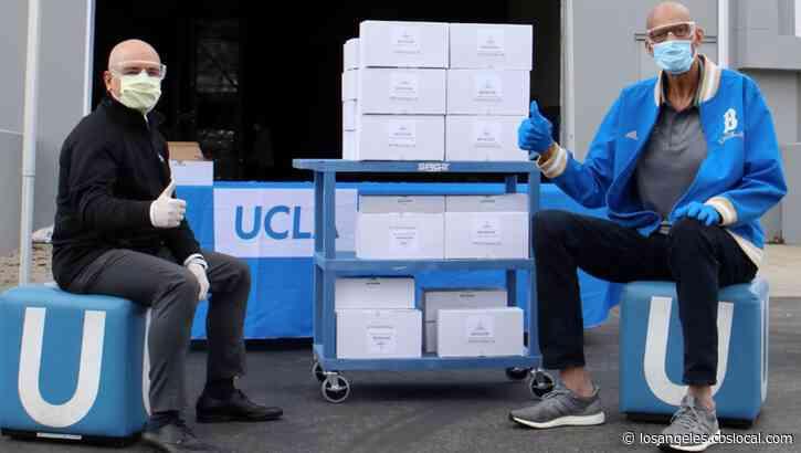 Kareem Abdul-Jabbar Donates 900 Pairs Of Safety Goggles To UCLA Health During Coronavirus Pandemic
