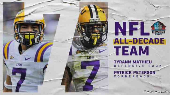 Former LSU Tigers Patrick Peterson and Tyrann Mathieu named to NFL All-Decade team