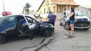 Colisão entre veículos deixa dois feridos em Ponta Grossa - CGN