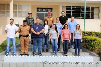 Diário dos Campos | Ambev doa álcool etílico para policiais de Ponta Grossa - Diário dos Campos