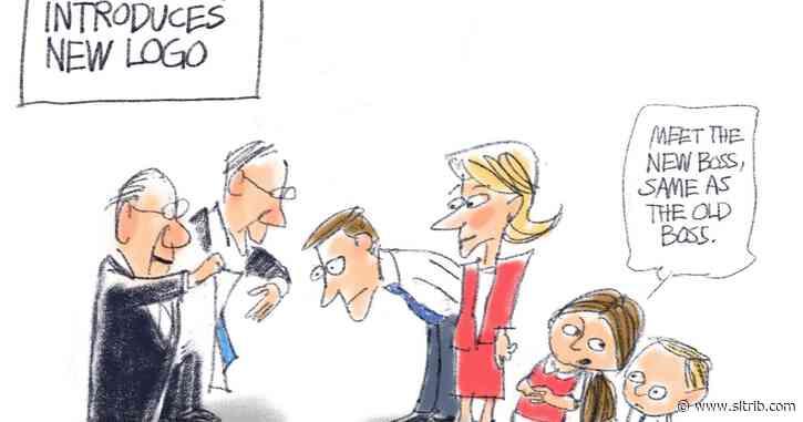 Bagley Cartoon: Branded