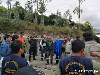 Comunidad campesina en Huancabamba cierra tranqueras para prevenir el coronavirus - Diario El Tiempo - Piura