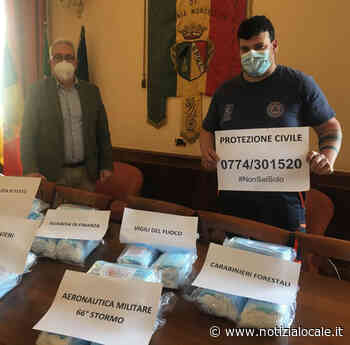 Guidonia: distribuite le mascherine arrivate dalla Regione Lazio - Notizialocale.it