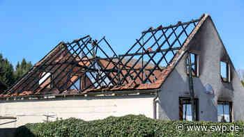 Feuerteufel in Donzdorf: Schuppen niedergebrannt - SWP
