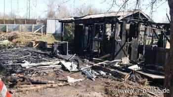 Feuer in Gartenlauben: Verdächtiger nach Brandserie in Guben gefasst - Lausitzer Rundschau
