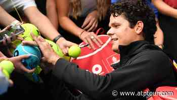 Home Cooking: Chopping Up Nutrition With Milos Raonic - ATP Tour