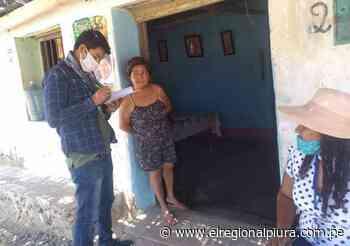 Sullana: realizan verificación de posibles beneficiarios de canasta familiar en Querecotillo - El Regional