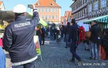 Coronavirus in Schorndorf - Der Markteinkauf läuft geordnet ab - Zeitungsverlag Waiblingen