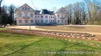 Hechingen: So langsam nimmt der neu gestaltete Vorgarten der Villa Eugenia Gestalt an - Hechingen - Schwarzwälder Bote