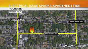Fire crews: Electrical issue sparked Flanders Street fire