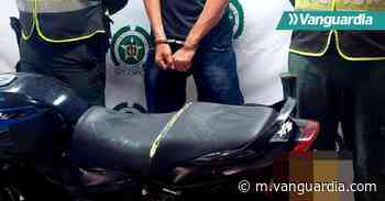 Recuperan moto robada en Mogotes, Santander - Vanguardia