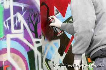 Neckartailfingen: Graffiti-Sprayer auf frischer Tat ertappt - esslinger-zeitung.de
