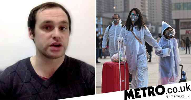 First Brit to catch coronavirus talks about life after lockdown in Wuhan