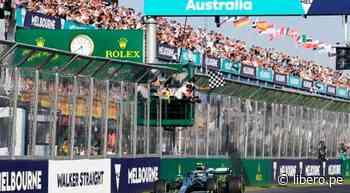 Fórmula 1 volvió a suspender el Gran Premio de Australia por la pandemia del coronavirus - Libero.pe