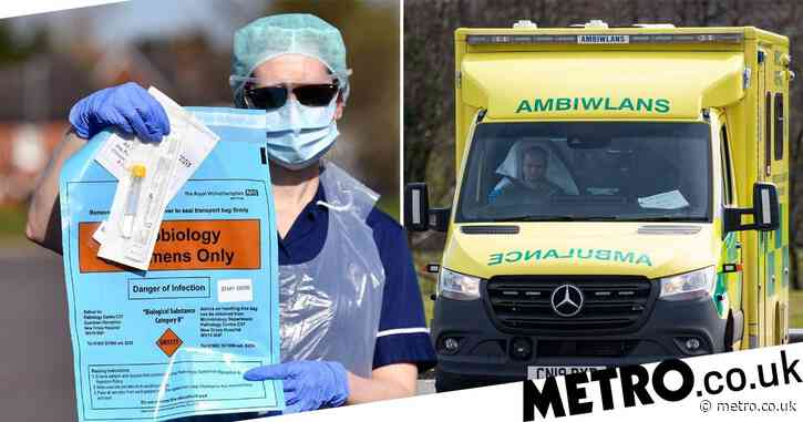 NHS staff infected with coronavirus given wrong test results