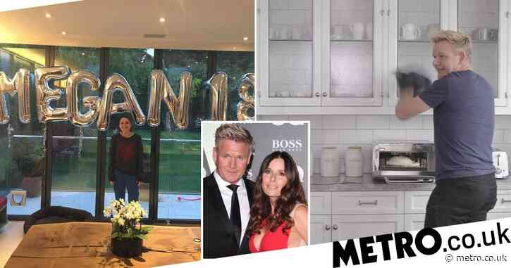 Inside Gordon Ramsay's luxurious townhouse in London as he self-isolates at Cornwall holiday home